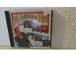 16 hollandse Hits, Nr 266 - GEEN VERZENDKOSTEN