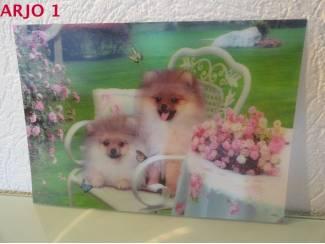 Drie D poster - Honden nr 141 - GEEN VERZENDKOSTEN