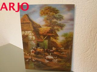 Drie D poster - natuur print nr 9 - GEEN VERZENDKOSTEN