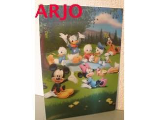 Ansichten, Prenten en Kaarten Drie D poster - Disney fam print nr 8 - GEEN VERZENDKOSTEN
