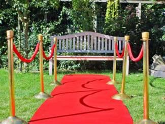 Rode loper voor evenement of bruiloft