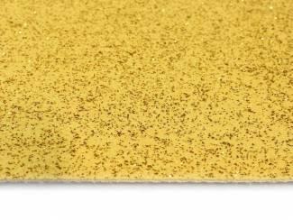 Glitter goud loper voor Kerst