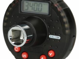 """1/2"""" digitale aanhaalmomentadapter met hoekmeter 17-340 Nm 516.1"""