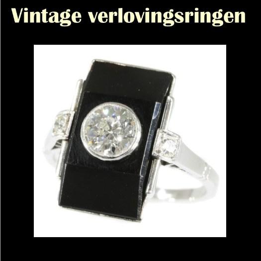 Wij verkopen duurzame vintage verlovingsringen