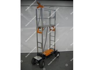 Luchtbandenwagen Easy Track Berg Hortimotive