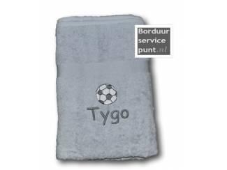 Set trouw-handdoeken Mooie set van twee handdoeken met daarop een