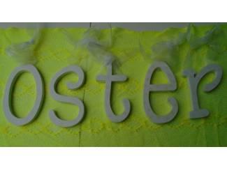 OSTER LETTERS WIT- GEEL Nieuw
