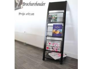 Folderrek Display en menubord voor winkels en bedrijven