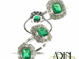 Vintage diamanten verlovingsringen met historische waarde