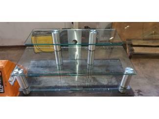 Glazen tv meubel