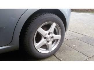 """Enzo 15"""" lichtmetalen velgen met Michelin winterbanden"""