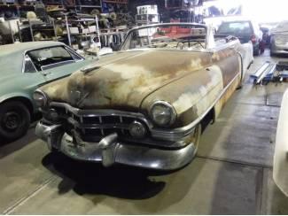 Cadillac 62 Convertible 1950 (to restore)