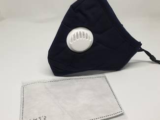 PM2.5 Mondmasker | Mondkapje | Zwart | Incl. 2 Filters