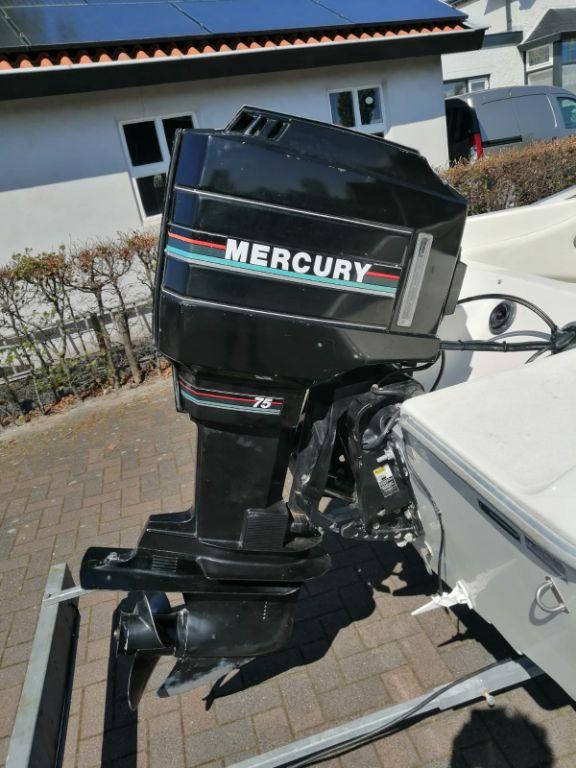 Mercury 75 pk 2 takt autolube