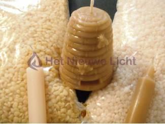 Hobby en Vrije tijd Bijenwas wit kaarsen maken