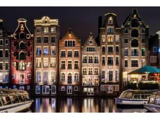 Zelfgemaakte foto Amsterdam 75x50
