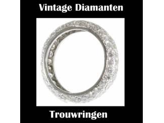 Vintage Diamanten trouwringen