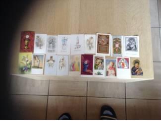 Plechtige Heilige kommunie en vormsel prentkaarten