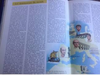 Twee boeken van de Geïllustreerde Encyclopedie van landen en hun