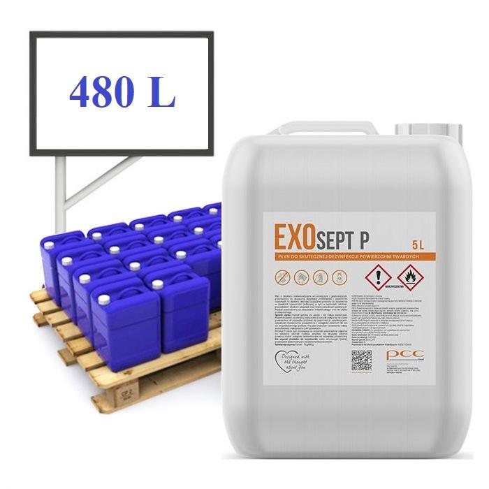 EXOsept P oppervlakte desinfecterende vloeistof 96 x 5l bus - pal