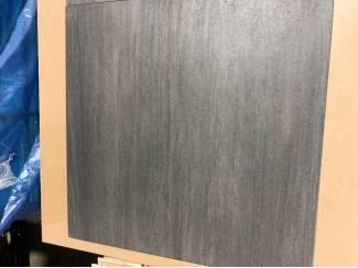 LAATSTE PARTIJ!! Donkere keramische vloertegel 60x60 NU v.a. ?9,