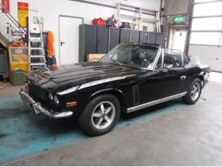 """Jensen Interceptor cabrio """"zwart"""" 1975"""