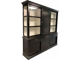 Buffetkast Putten zwart 240 x 240 dichte middendeur
