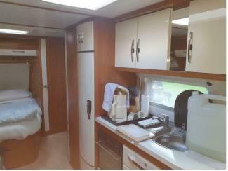 Caravans HOBBY PRESTIGE 6.45 VIP Bj 2015 IN.NW.ST. 1e Eigenaar