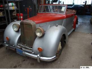 Alvis DHC 1948 (RHD) to restore
