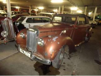 Alvis TC21 convertible 1952