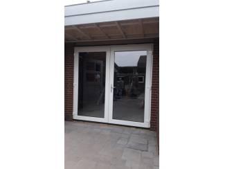 AANBIEDING! Kunststof terrasdeuren 2000x2100 ?995