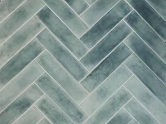 Wandtegels kopen - De perfecte turqoise tegel - 7,5x30 cm
