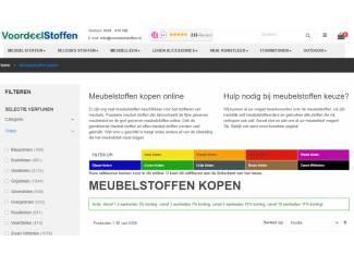 Online meubelstoffen bestellen bij Voordeelstoffen.nl