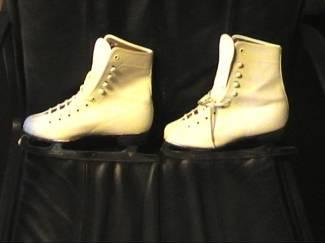 ijsschaaten wit / maat 37, Patins à glace blanc pointure 37
