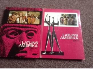 2 Boeken van Latijns Amerika met prenten,om een reis te plannen
