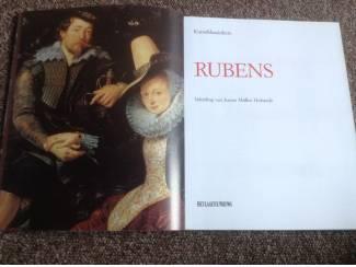 Boek v/d mooiste meesterwerken van schilder Rubens
