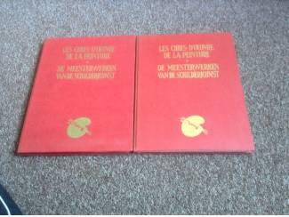 Twee boeken v/d meesterwerken v/d schilderkunst tweetalig