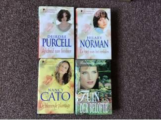 4 /Romantische leesboeken,meesterwerken van romans