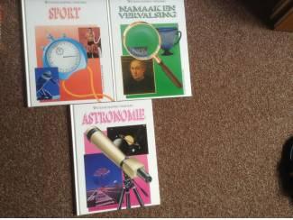 3 Boeken van wetenschappen vandaag, prachtige boeken,leerzaam