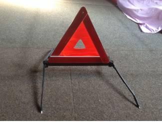 2 verkeersdriehoek voor wagen bij pech 2 triangles de circulation