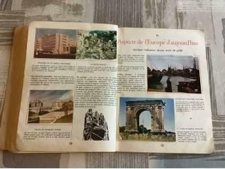Overige 4 BOEKEN;LA GEOGRAPHIE de L'EUROPE .4 LIVRES anciens