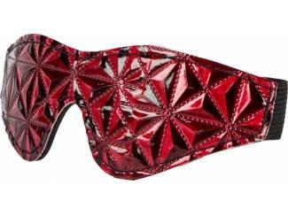 Oogmasker Rood/Zwart