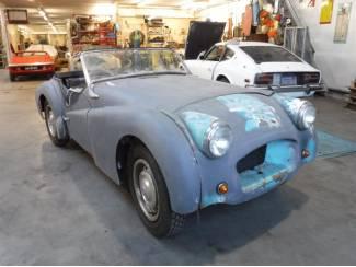 """Triumph TR3 """"small mouth"""" 1955"""