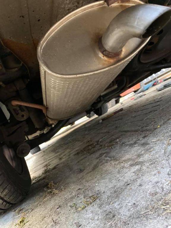 Uitlaat compleet Peugeot 206SW