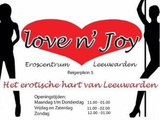 Al eens bij LoveNJoy in Leeuwarden geweest?