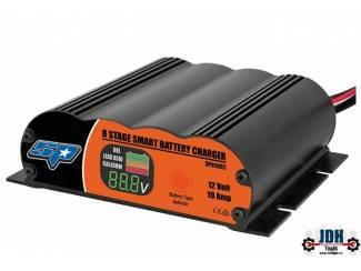 8 Staps 10 Amp 12V Smart Lader SP61082