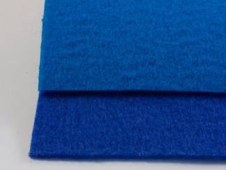 Feestartikelen Blauwe loper droogloopmat voor winkel of bedrijf