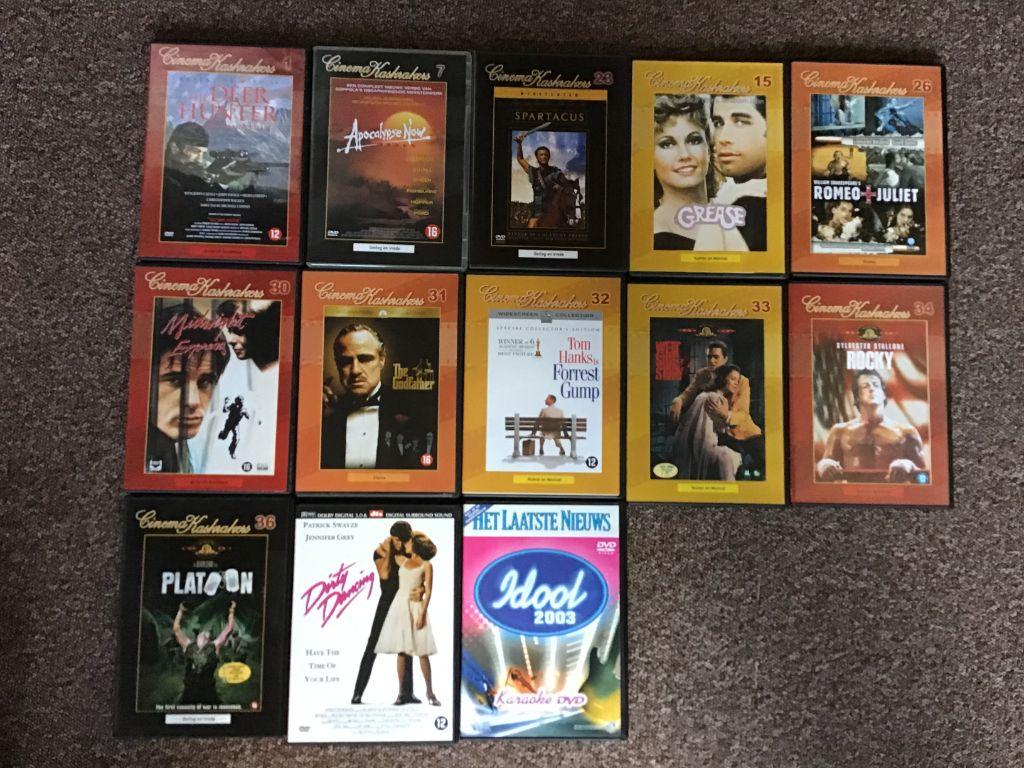 DVD,s films ,alle genres zoals,Actie, Avontuur, Familiefilms,ENZ