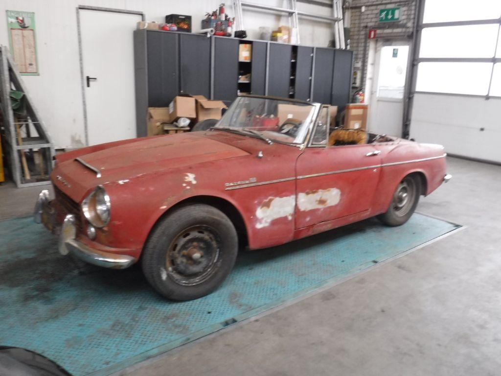 Datsun 1600 Fairlady 1966 4 cil. 1600cc (to restore!)