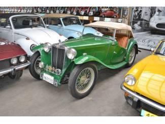 MG TC 1949 RHD  (Heel mooi!!)